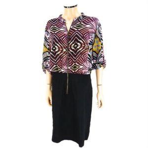 NICOLE MILLER WOMAN Sheath Zipper Dress 20W